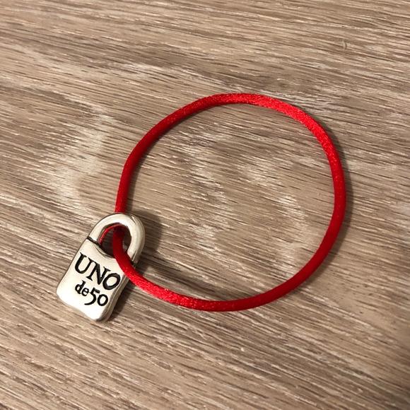 UNO de 50 Jewelry - Uno de 50 Sterling Silver Charm Bracelet, NEW